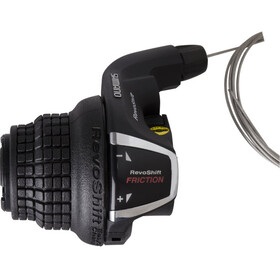 Shimano Tourney SL-RS35 Grip Shifter Left 3-fold clamp including cable black